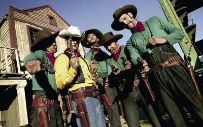 DIY Lucky Luke Daltons Cowboy Costume