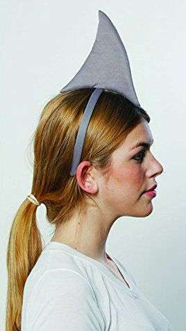 amazon diy shark halloween costume idea headband. Black Bedroom Furniture Sets. Home Design Ideas
