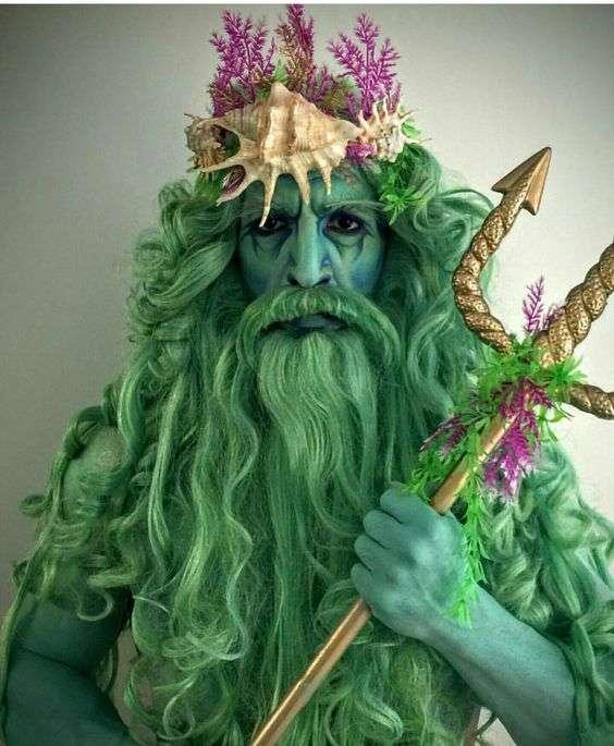 DIY Neptune Halloween Costume Idea 3