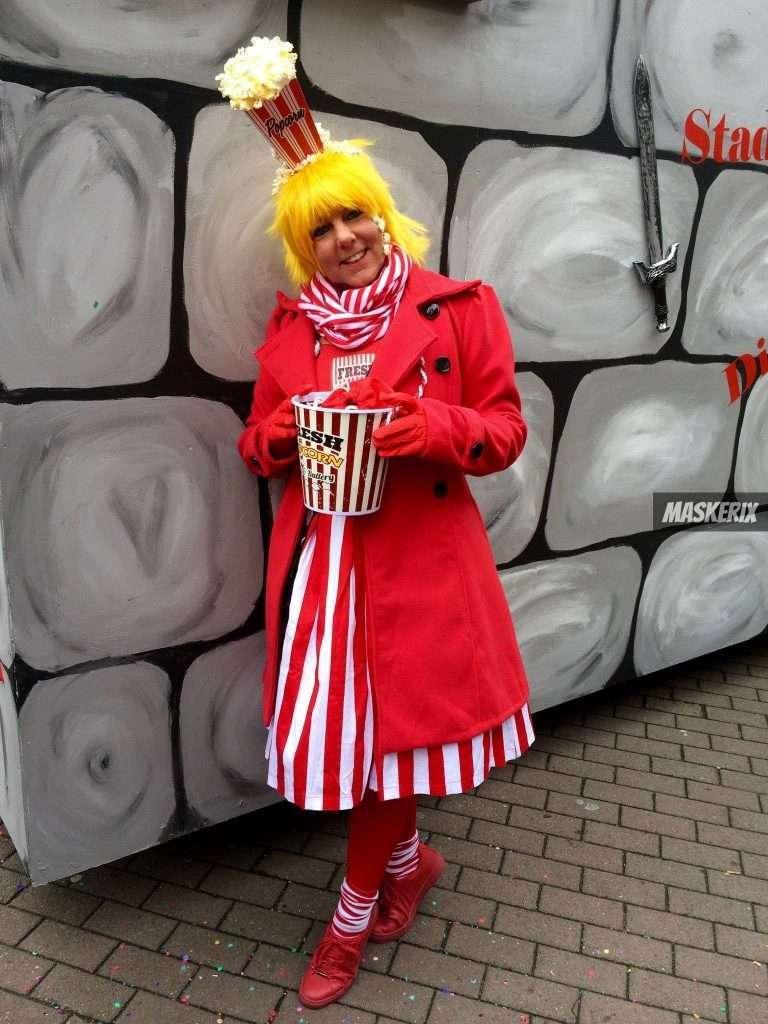 Diy Popcorn Halloween Costume Maskerix Com
