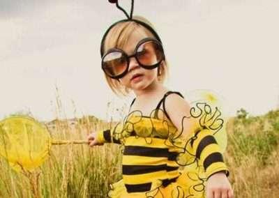 DIY Bee Halloween Costume Idea