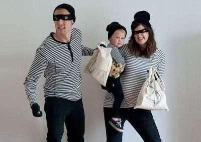 DIY Burglar Halloween Costume Idea