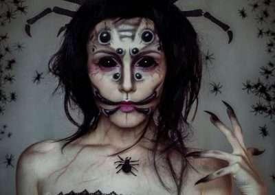 DIY Spider Halloween Costume Idea 1