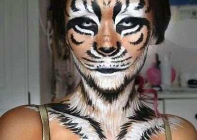 DIY Tiger Halloween Costume Idea 3
