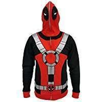 DIY Deadpool Halloween Costume Idea - Hoodie