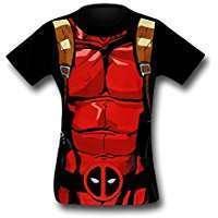 DIY Deadpool Halloween Costume Idea - Shirts