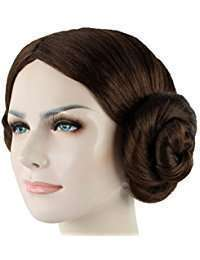 DIY Star Wars Princess Leia Halloween Costume Idea - Wig
