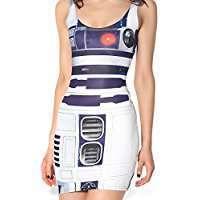 DIY Star Wars R2D2 Halloween Costume Idea - Dress