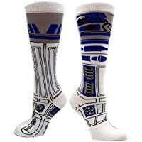DIY Star Wars R2D2 Halloween Costume Idea - Socks