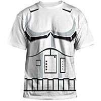 DIY Star Wars Storm Trooper Halloween Costume Idea - Shirts