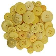 DIY Halloween Costume Idea - Big Yellow Buttons