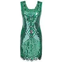 DIY Halloween Costume Idea - Green Flapper Dress