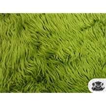 DIY Halloween Costume Idea - Green Fur Fabric