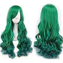 DIY Halloween Costume Idea - Green Wig