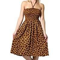 Amazon - DIY Giraffe Halloween Costume Idea - Dress