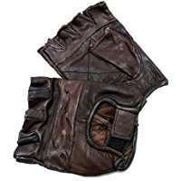 DIY Halloween Costume Idea - Brown Fingerless Gloves