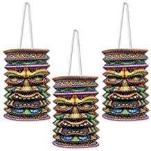 Motto Party Ideas - Tiki Lanterns
