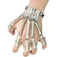 DIY Halloween Costume Idea - Bone Bracelet
