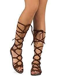 DIY Khaleesi Halloween Costume Goddess Sandals