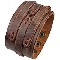 DIY Khaleesi Halloween Costume Leather Bracelet