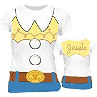DIY Halloween Costume Idea - Jessie Shirt