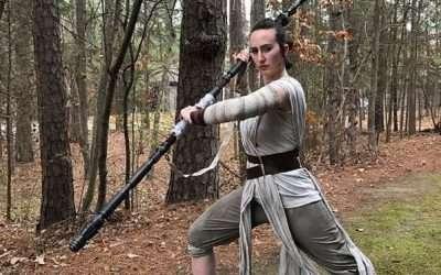 DIY Rey Star Wars Costume