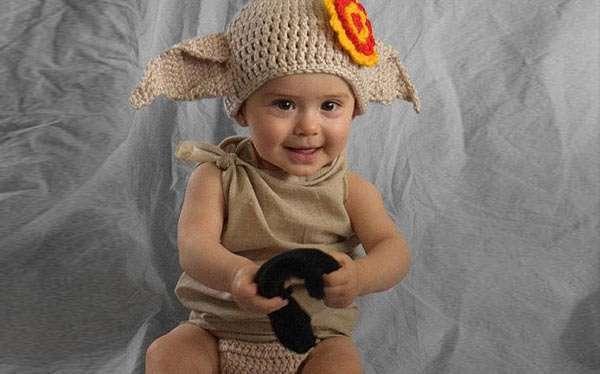 DIY Harry Potter Dobby Costume