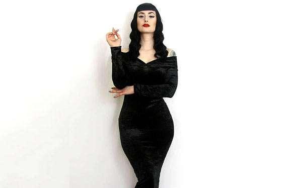 DIY Morticia Addams Costume