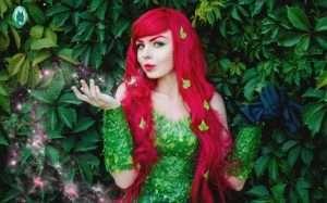 Etsy - Poison Ivy Halloween Costume Idea