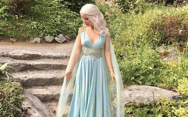 DIY Khaleesi Costume
