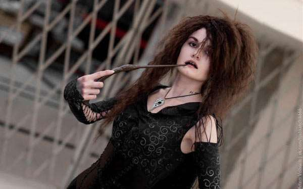 DIY Bellatrix LeStrange Costume