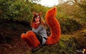 Etsy - DIY Squirrel Halloween Costume Idea