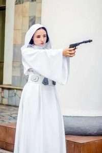 Etsy - DIY Star Wars Leia Halloween Costume Idea