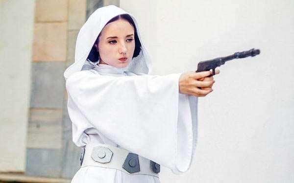 DIY Princess Leia Star Wars Costume