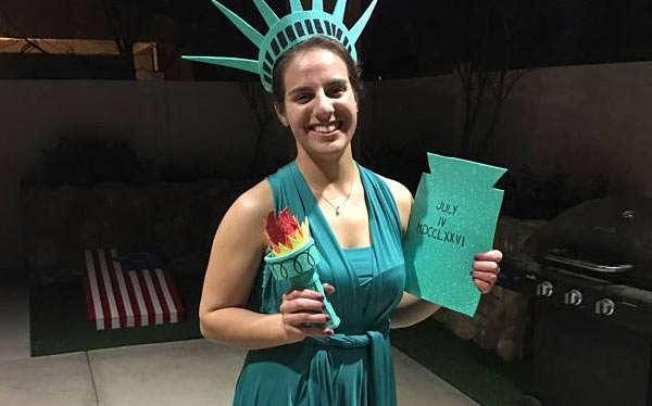Diy Statue Of Liberty Costume Maskerix Com