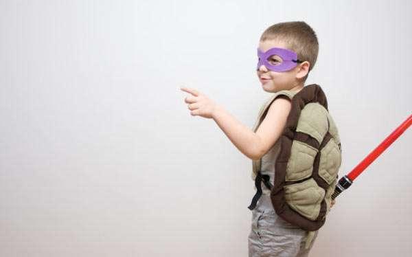 DIY Teenage Mutant Ninja Turtle Halloween Costume