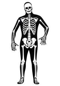 Amazon - DIY Halloween Costume Idea - Skeleton Suits