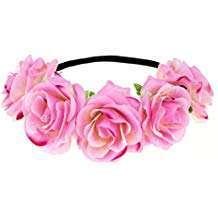 Amazon - DIY Halloween Costume Idea - Pink Flower Headband
