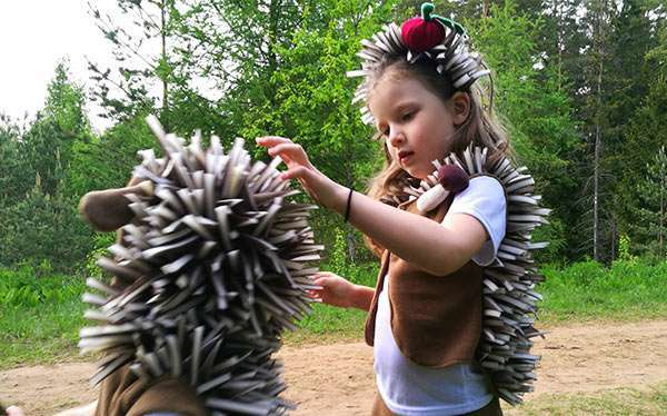 DIY Hedgehog Halloween Costume Idea