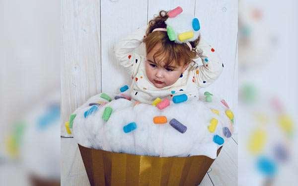 DIY Cupcake Halloween Costume Idea