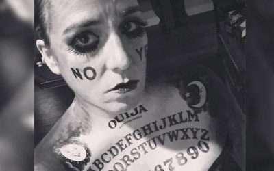 DIY Ouija Halloween Costume Idea