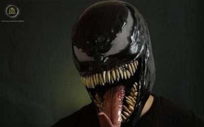 DIY Spiderman Venom Costume