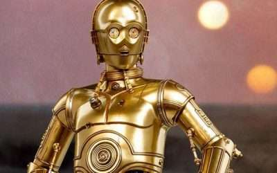 DIY C3PO Star Wars Costume