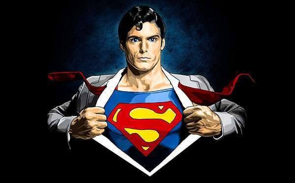DIY Clark Kent Superman Costume
