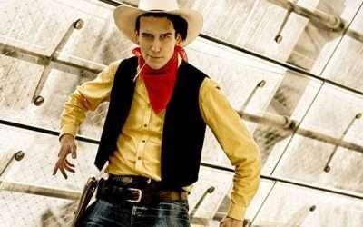 DIY Cowboy Lucky Luke Costume