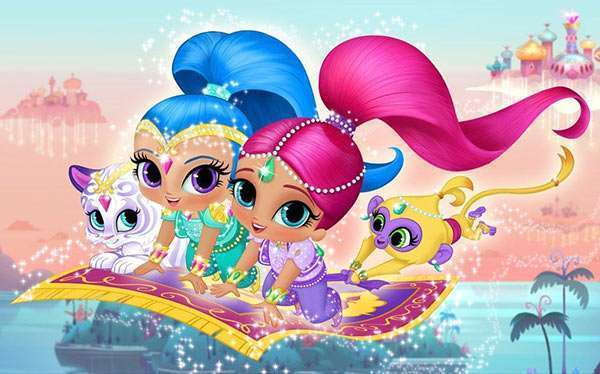 DIY Shimmer & Shine Halloween Costume Idea