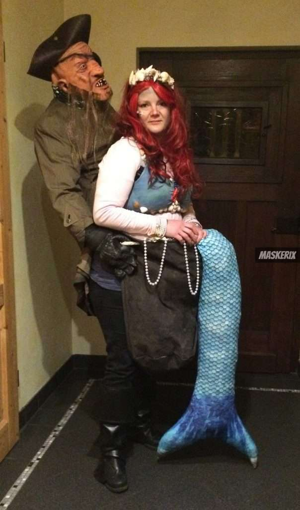 maskerix - DIY Mermaid Costume Idea