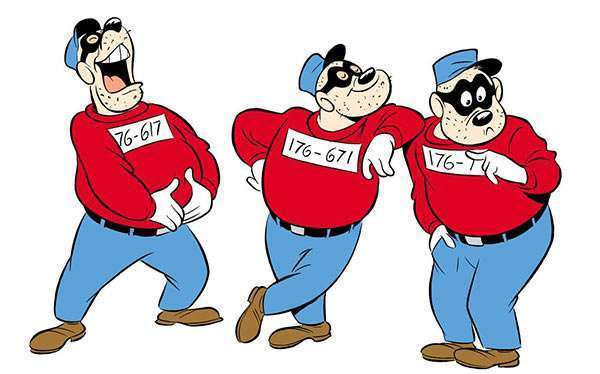 DIY Beagle Boys Costume