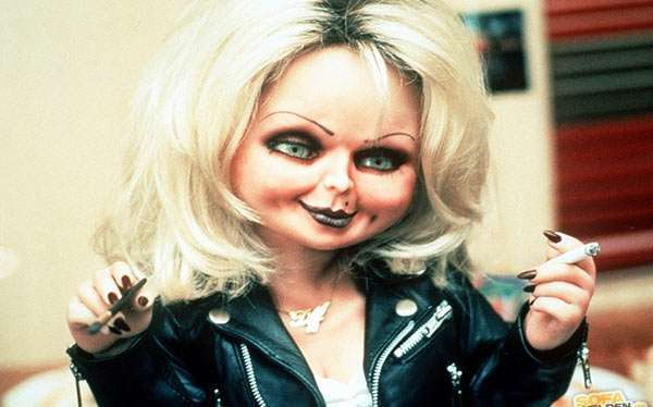 DIY Bride of Chucky Costume