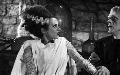 DIY Bride of Frankenstein Costume